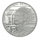 Portugal 7,5€ Carlos Lopes Prata Proof 2017