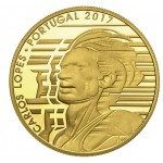 Portugal 7,5€ Carlos Lopes Ouro Proof 2017