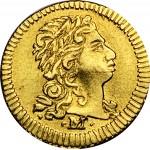 D. João V Cruzadinho (400 Réis) 1734 Minas Gerais