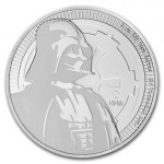 Niue 2$ Darth Vader - Star Wars 2017