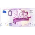 Nota 0€ Cannstatter Volksfest 1818-2018 - 1