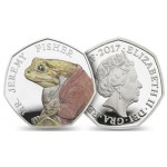 Inglaterra 50 Pence Beatrix Potter - Jeremy Fisher 2017
