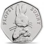 Inglaterra 50 Pence Beatrix Potter- Flopsy Bunny 2018