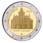 Grécia 2€ Mosteiro de Arkadi 2016