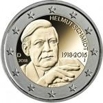 Alemanha 2€ Helmut Schmidt 2018