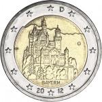 Alemanha 2€ Bayern 2012