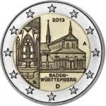 Alemanha 2€ Abadia de Maullborn 2013