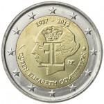Bélgica 2€ Rainha Elisabete 2012