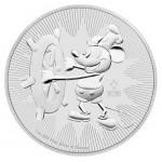 Niue 2 Dollares - 1 OZ Mickey 2017