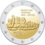 Malta 2€ Templo Hangar Qim 2017