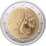 Estónia 2€ A Independência 2017