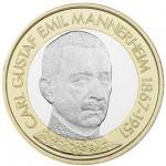 Finlândia 5€ Mannerhein 2017