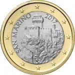 São Marino 1€ Corrente 2017