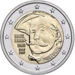 Portugal 2€ 150 Anos Nascimento Raul Brandão 2017