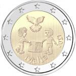 Malta 2€ Paz e Solidariedade 2017