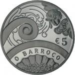 Portugal 5€ O Barroco 2018