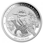 Austrália 1 Dollar Kookaburra 2019 - Onça de Prata