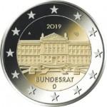 Alemanha 2€ Bundesrat 2019