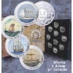 Espanha 4x 1,5€ A História da Navegação + Livro 2018