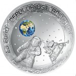 Áustria 20€ Chegada do Homem á Lua 2019