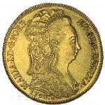D. Maria I Peça (6400 Réis) 1793 Rio de Janeiro
