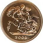 UK 1/2 Libra Elisabeth II 2009