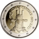 Italia 2€ Roma Capital de Italia 2021