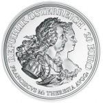 Áustria 20€ Maria Theresa - Justiça e Coragem  2017