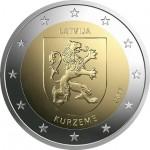 Letónia 2€ Kurzeme 2017