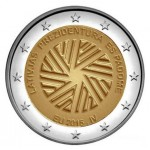 Letónia 2€ Presidência da União Europeia 2015