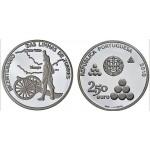 Portugal 2,5€ 200 Anos das Linhas das Torres 2010 Proof