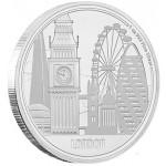 Nieu 2$ Grandes Cidades - Londres 2017 - 1oz - Promoção válida de 9/7/18 a 20/7/18