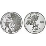 Portugal 2,5€ Jogos Olimpicos de Londres Prata Proof 2012