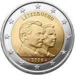 Luxemburgo 2€ Grão Duque Guilherme 2006