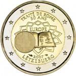 Luxemburgo 2€ Tratado de Roma 2007
