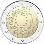 Malta 2€ 30 Anos da Bandeira Europeia 2015