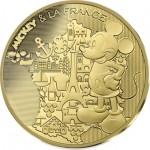 França 200€ Mickey pela França 2018 OURO