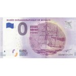 Nota 0€ Musée Océanographique de Monaco 2018 - 2