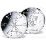 Alemanha 20€ Ernest Otto Fischer 2018