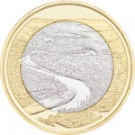 Finlândia 5€ Rio Oulankajoki 2018