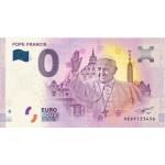 Nota 0€ Papa Francisco 2018 - 1