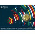 Portugal 2€ Presidência da União Europeia 2007 Proof