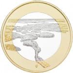Finlândia 5€ Arquipélago Punkaharju 2018