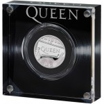 Inglaterra 1 Pound  (1/2 Onça) Queen 2020 Prata Proof