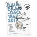 Portugal 2€ 150 Anos do Nascimento de  Raul Brandão Bnc 2017
