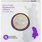 Finlândia 5€ Mergulhão da Savonia Proof 2014