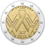 França 2€ Dia Mundial da Sida 2014