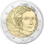 França 2€ Simone du Veil 2018