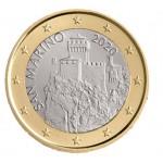 São Marino 1€ Corrente  2020