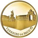 Portugal 2,5€ Terreiro do Paço 2010 Ouro